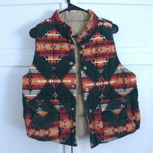 Reversible Ralph Lauren vest